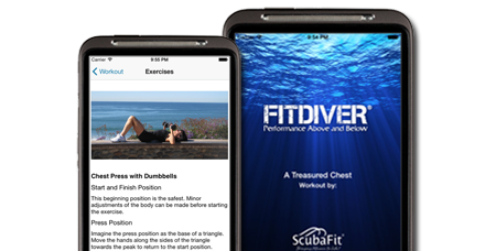 Mobile App for Scuba Diver Fitness