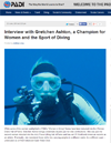 A Champion for Women and Scuba Diving
