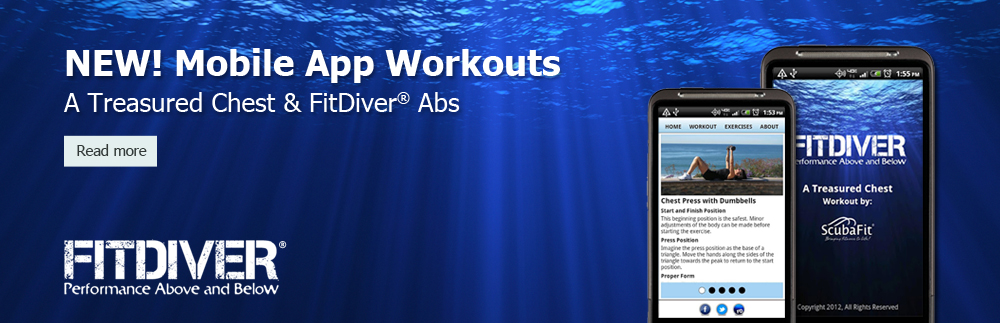 FitDiver Mobile Apps