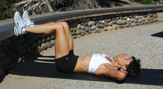 FitDiver Featured Exercise: Basic Crunch