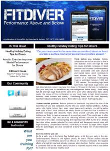 Scuba Diving newsletter